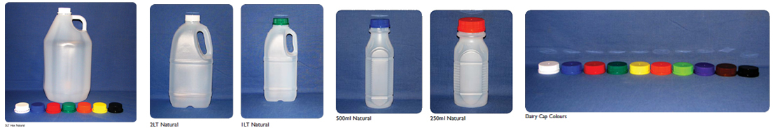 Plastic Bottles for Milk and Juice Packaging